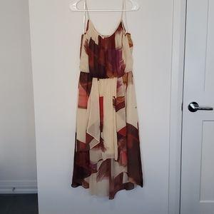 Maggy London - High/Low Spaghetti Strap Dress